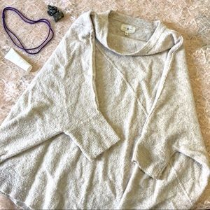 LOFT Lou and Grey Slouchy Sweater